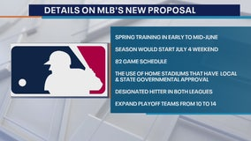 Details on MLB's new proposal: Spring Training in early to mid-June, season may start July 4 weekend