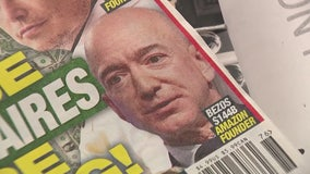 Bezos accuses National Enquirer of blackmail, extortion