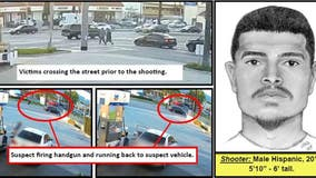 Authorities circulate composite sketch of suspect in fatal Azusa shooting