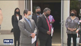 San Fernando Valley leaders condemn George Floyd death
