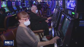 Hundreds brave the heat to gamble again as FOX 11 gets exclusive look inside latest SoCal casino to reopen