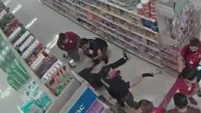 Caught on camera: Fight breaks out at Target after customers refuse to wear facial covering