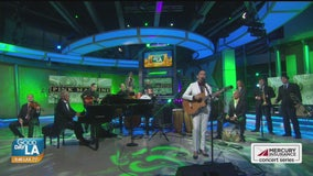 Pink Martini performs live on Good Day LA