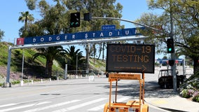 COVID-19 testing site coming to Dodger Stadium