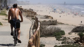 LA County announces new openings of beach bike paths, indoor mall curbside service