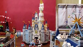 Texas man enjoys Lego Disneyland replica at home amid COVID-19 pandemic