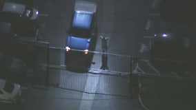 Pursuit ends in Santa Ana after suspect surrenders