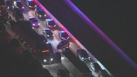 Suspect killed in officer-involved shooting on 60 Freeway in Monterey Park