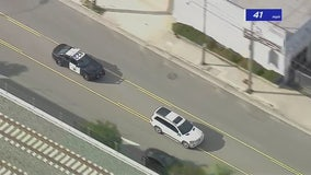Suspect in custody after leading authorities on high-speed chase