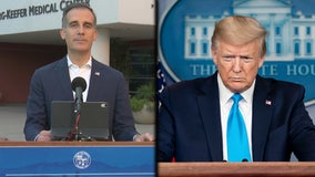 Trump administration sends warning letter to Garcetti over COVID-19 laws