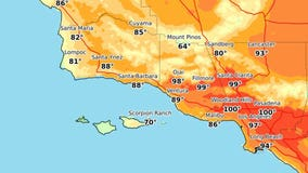 Heat wave brings triple-digit temperatures to parts of SoCal