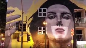 """DTLA mural """"talks"""" to inspire during pandemic"""