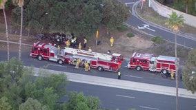 Woman killed in South Pasadena crash on 110 Freeway
