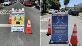Garcetti announces `Slow Streets LA' to help protect pedestrians, cyclists