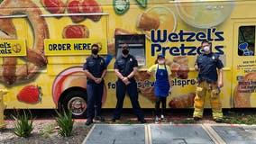 New Wetzel's Pretzel truck treks to coronavirus frontlines