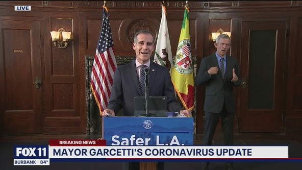 Garcetti announces Los Angeles can reopen for in-person shopping starting Wednesday with safety protocols