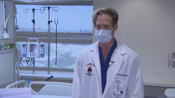 County USC doctor describes treating injured firefighters