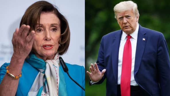 Nancy Pelosi digs at Trump, calls president 'morbidly obese'