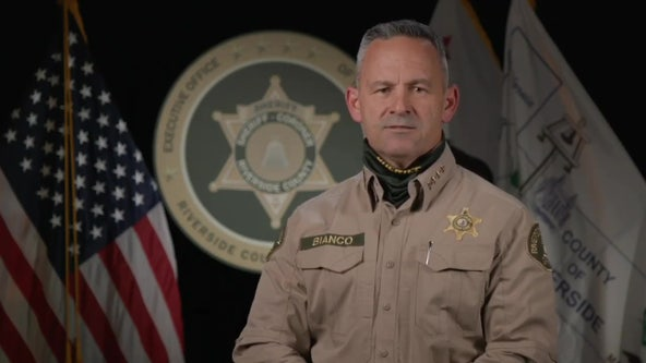 Riverside County Sheriff Bianco blasts Newsom, says department won't enforce lockdown orders