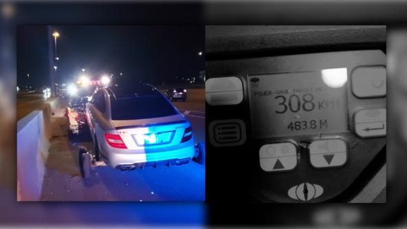 'Unbelievable speeds': Teen busted for driving 191 mph in Canada, police say