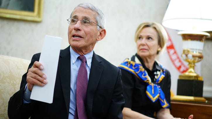 Dr. Anthony Fauci says `we dont have to...