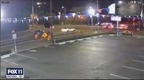 New surveillance video shows horrific crash involving LAPD patrol car