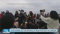 Star Wars actor speaks at BLM protest in London
