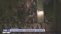 City and County of Los Angeles respond to riots
