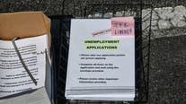 American unemployment claims fall to 751,000; coronavirus resurges