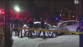 Carjacking suspect killed in crash during police pursuit
