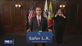 Mayor Garcetti says no 'conclusive evidence' showing protests contributed to rise in COVID-19 cases