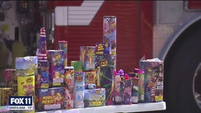 Police, fire agencies patrolling streets to stop illegal fireworks