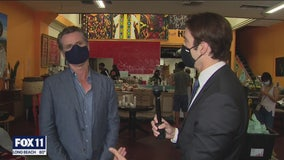 Governor Newsom met with community leaders, business owners in South LA