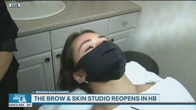 Bringing Back Business: The Brow & Skin Studio reopens after COVID-19 closure
