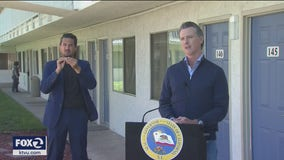 Gov. Newsom looks at Project Roomkey as potential long-term fix on homelessness
