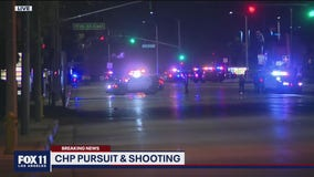 Palmdale pursuit ends in shooting