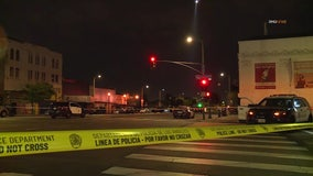Two wounded in officer-involved shooting in south Los Angeles
