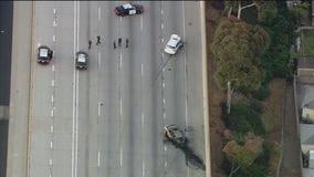 Shooting investigation prompts lane closures on 110 Freeway in Gardena