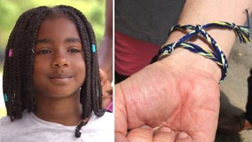 9-year-old Kamryn Johnson sells bracelets to help Minneapolis rebuild after riots