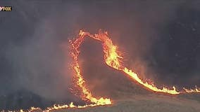 Evacuations underway as wildfire spreads near Lake Piru in Ventura County