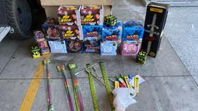 Over 300 pounds of fireworks seized in Pomona