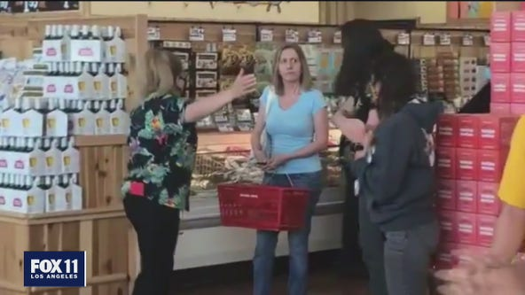 VIDEO: Woman shamed on social media for not wearing a mask at Trader Joe's speaks to FOX 11