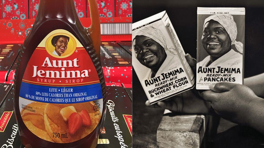 Aunt Jemima brand to change name and remove image from packaging ...