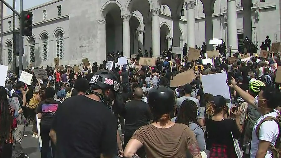 Cities brace for more protests as cleanup continues from weekend looting