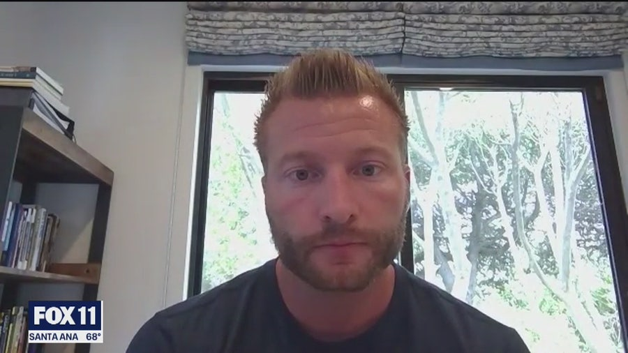 Sean McVay says meeting with Rams team was powerful and educational