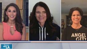 """Soccer champ Mia Hamm and other big names unite for a common """"goal"""""""