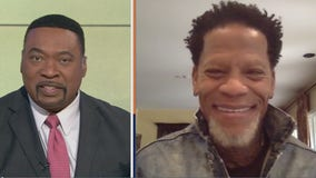 "D.L. Hughley talks about his new book ""Surrender, White People! Our Unconditional Terms for Peace"""