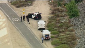 Suspicious death investigation underway in Santa Ana after body discovered near riverbed