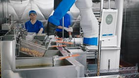 Robot that flips burgers, cooks fries helps eliminate touching points when your food is being prepared