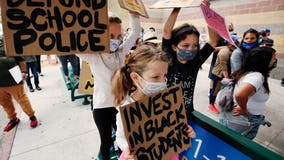 LA school board votes to cut school police budget, PD Chief Todd Chamberlain resigns